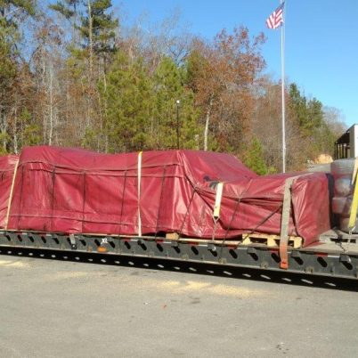 transporting items through overweight truck